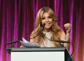 Thalía, premiada por su lucha contra la enfermedad de Lyme