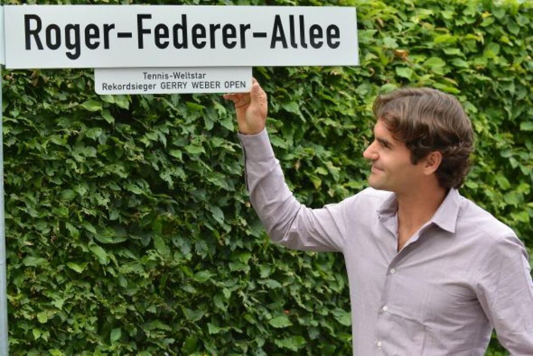 Federer, tercer tenista en el ranking mundial de la ATP, cuenta con 52.7...