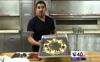 Cientos de personas mantienen viva la tradición de comer Rosca de Reyes...