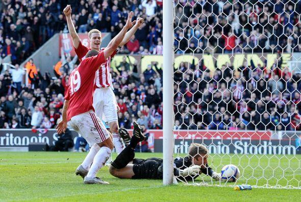 Otra imagen del gol anotado por Higginbotham.