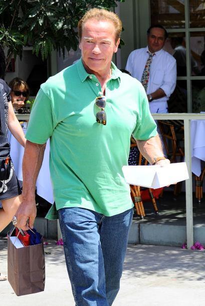 Arnold se separó hace tres años de Shriver por el escándalo de su hijo i...
