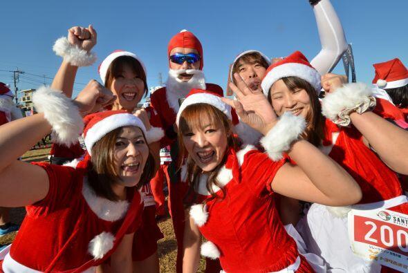Todas las Santas se mostraron muy coquetas.