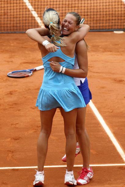 ¡Son campeonas del Roland Garros! Las checas no disimularon su emoción y...