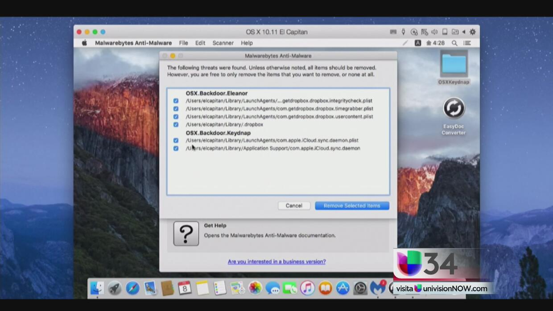 Ataques cibernéticos a las computadoras Mac