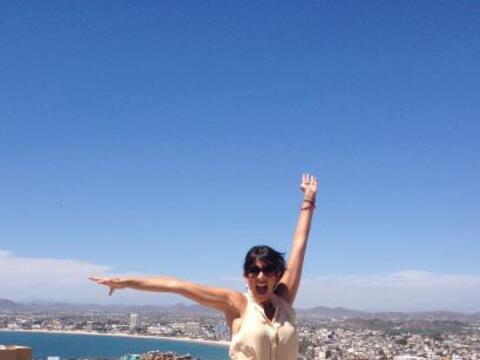Maity Interiano estuvo de visita en Mazatlán con motivo de los Pr...