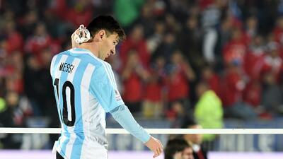 El argentino y su familia no la pasaron bien en la final de Copa Am&eacu...
