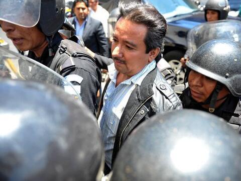 El presunto capo del narcotráfico Juan Ortiz López, alias...