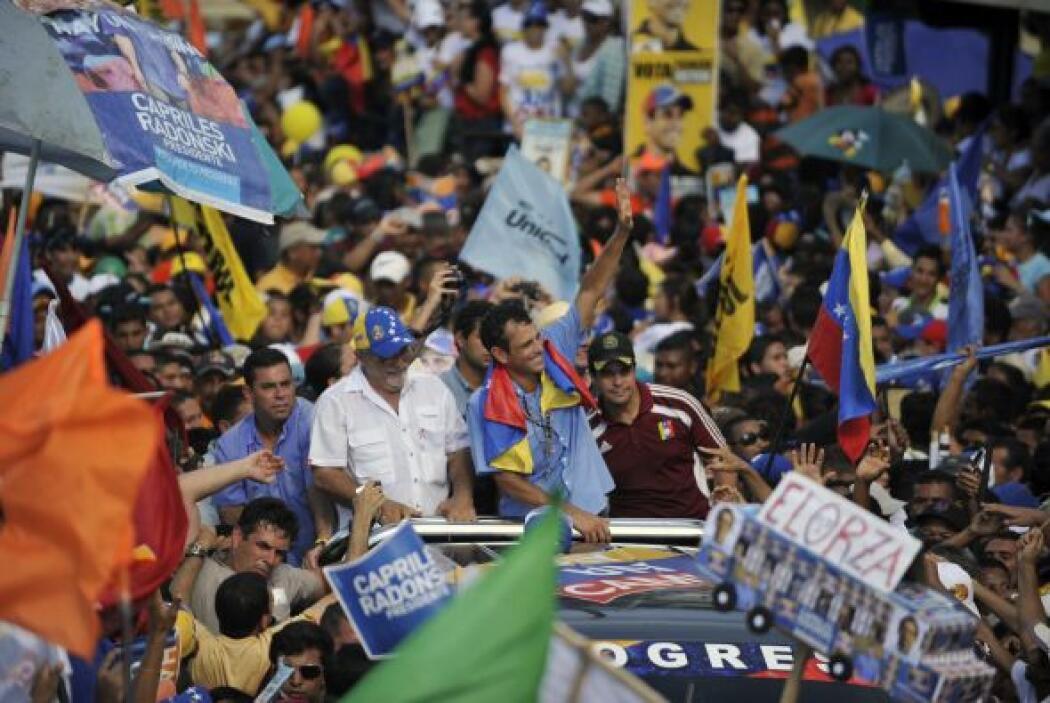 """""""Ha despertado Venezuela y el domingo Venezuela va a votar a decirle sí..."""