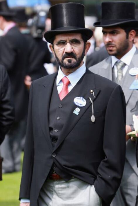 6. Mohamed bin Rashid Al Maktum. El actual primer ministro y vicepreside...