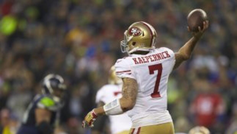 Colin Kaepernick conoce muy bien las debilidades de los Seahawks (AP-NFL).