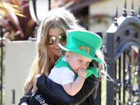 Fergie y Josh disfrutaron de un día de San Patricio diferente en...