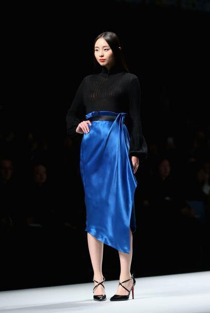 """La falda """"Tulipán"""" se ha convertido en sinónimo de elegancia y también e..."""