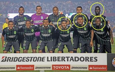 Pérez, Mejía, Sánchez y Moreno fueron indiscutibles...