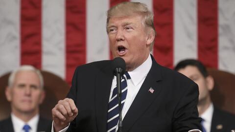 Trump le pide al Congreso que quite el Obamacare