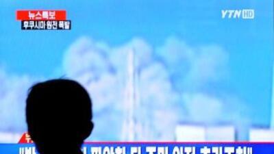 La explosión ocurrió un día después del potente terremoto de 8.9 grados...