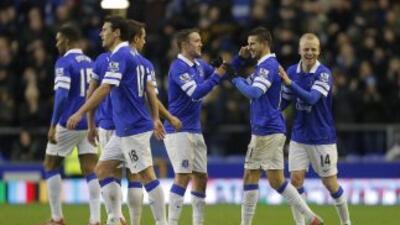 El Everton se colocó en puestos europeos.