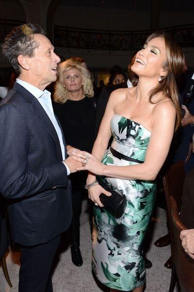 Jennifer Lopez disfrutó de la compañía de todos los asistentes, entre el...
