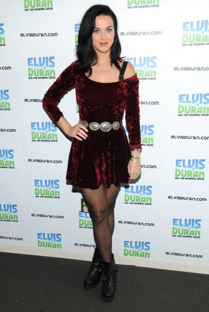 Katy Perry es una de las famosas que ya lo luce. La cantante presumi&oac...