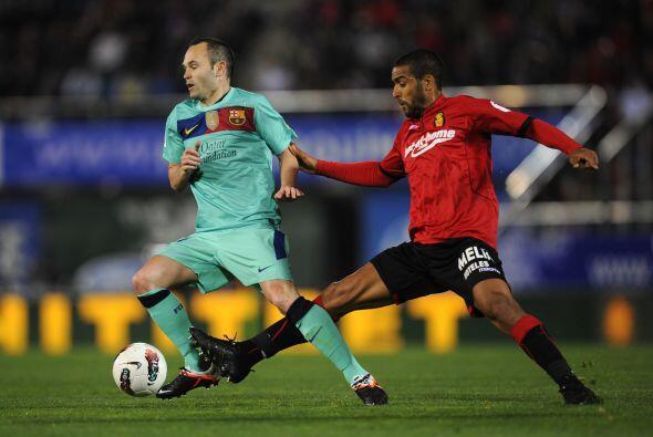 Otro que tuvo un buen partido fue Andrés Iniesta.