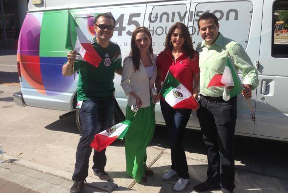 Por supuesto que Univision 45 estuvo ahí para traerte los mejores...