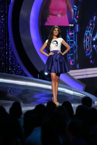 La dominicana Carlina Durán sigue en la competencia aunque no le...