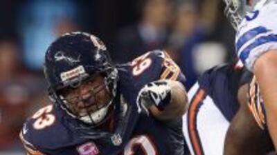 Roberto Garza y los Bears tienen la filosofía de seguir trabajando por m...
