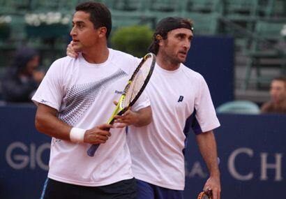 Nicolás Almagro (izquierda) y Santiago Ventura jugarán la final de doble...