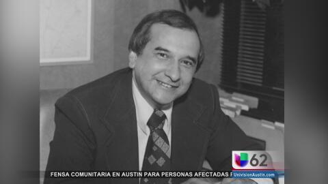 Muere Richard Moya, el primer comisionado hispano del condado Travis