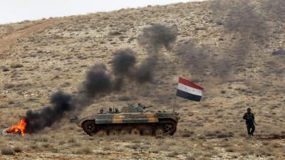 La guerra en Siria.