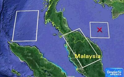 Sin éxito, la búsqueda del vuelo 370 de Malaysia Airlines
