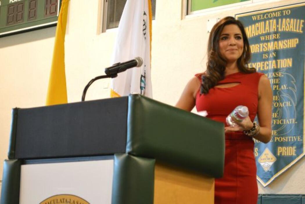 Nuestra Pamela Silva Conde, presentadora de Primer Impacto, es una de la...