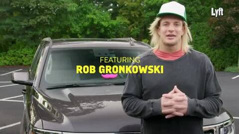 Rob Gronkowski se hace pasar por chofer de Uber