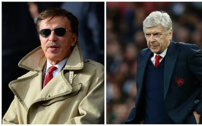 Wenger ya dirigía al Arsenal antes de la llegada de Kroenke.