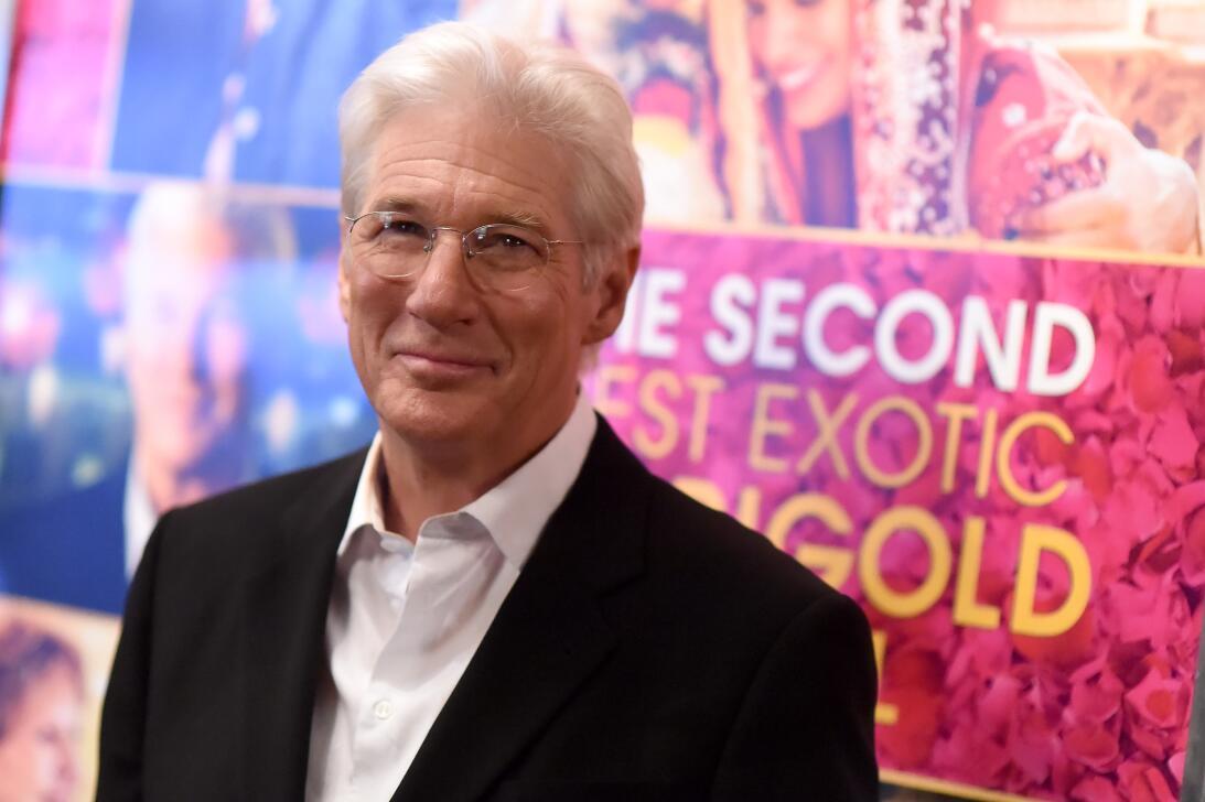 En el estreno de la secuela 'The Second Best Exotic Marigold Hotel' el 3...