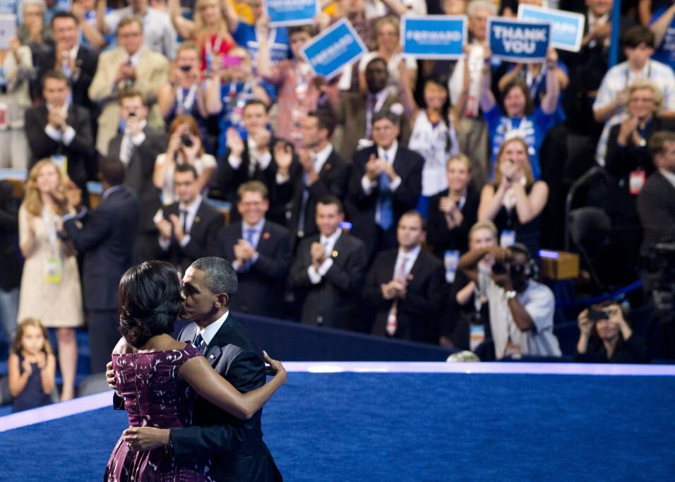 Michelle y Barack Obama: los amantes de la Casa Blanca GettyImages-15139...