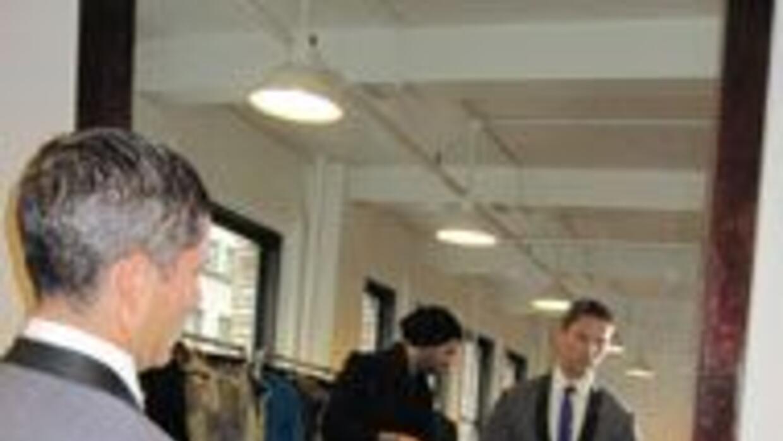 Rodner vestirá de Carlos Campos. Visitó al modisto para un traje de lujo...