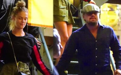 Leonardo DiCaprio pasa una noche romántica con Nina Agdal