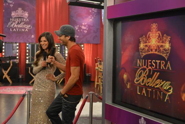 Ale se puso feliz cuando Enrique se acordó que estuvo en Nuestra Belleza...