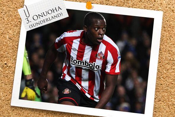 Nedum Onuoha fue parte de la hazaña lograda por Sunderland en Stamford B...