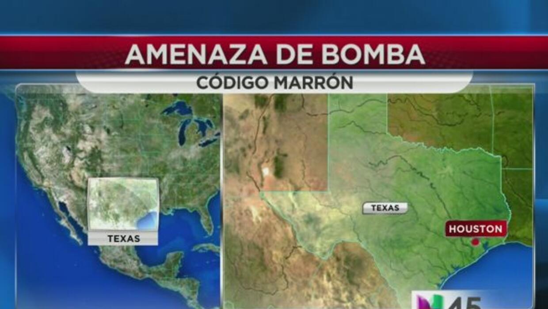 Amenaza de bomba en Texas A&M