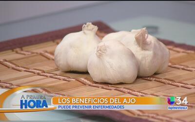 ¿Conoce los beneficios y poderes curativos del ajo?