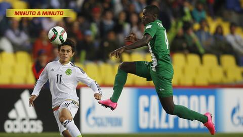 Minuto a minuto. México vs. Nigeria