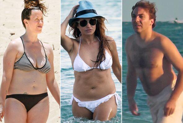 No todas las celebridades pueden presumir de tener un cuerpazo, estos fa...