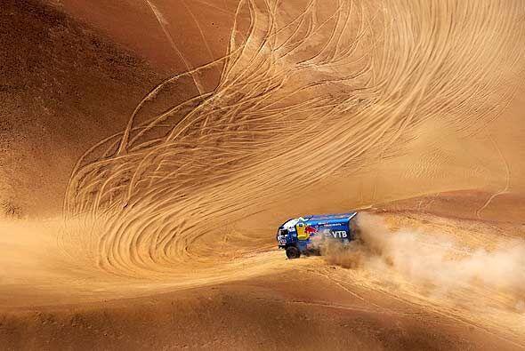 Especialmente cuando le tocaba bajar las dunas del desierto a toda veloc...