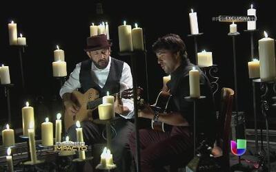 En exclusiva la unión musical de Luis Fonsi y Juan Luis Guerra