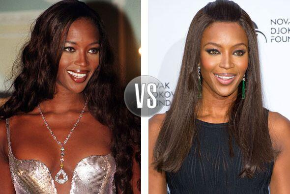 Aunque parece que Naomi Campbell sigue idéntica, la famosa modelo...