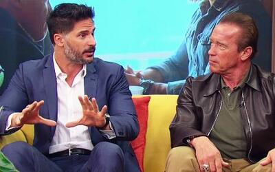 Schwarzenegger y Manganiello más fornidos que nunca