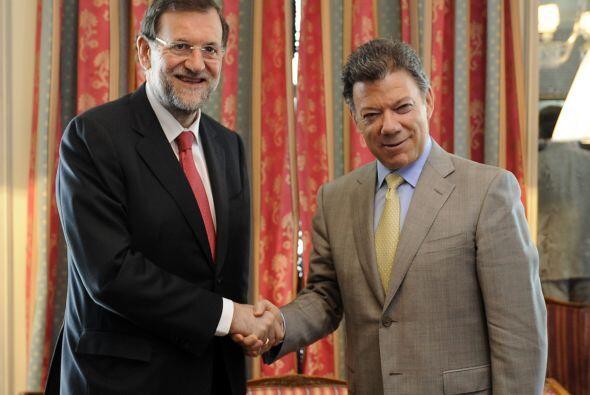 El presidente colombiano continuará su gira por Europa, su siguiente esc...