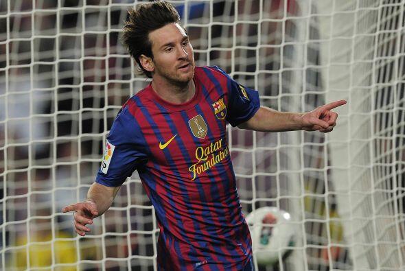 Messi sumaba un nuevo triunfo en su carrera al sumar 67 goles en una mis...