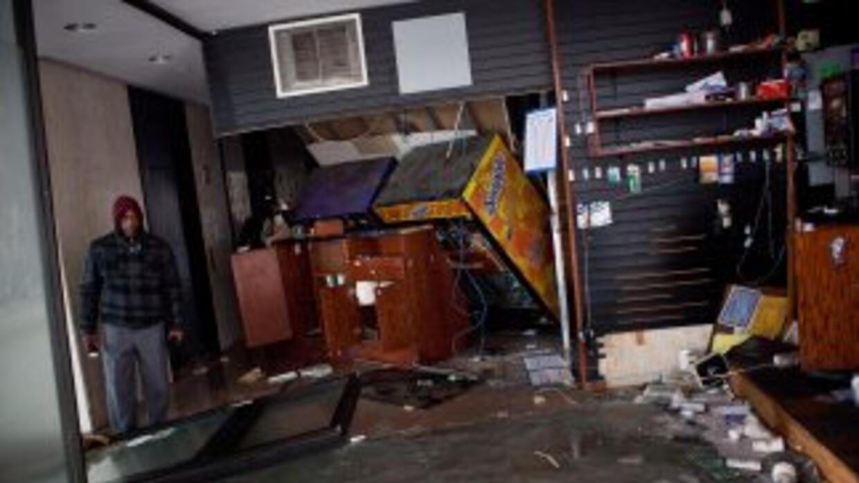 Sandy dejó devastación en el noreste de Estados Unidos.